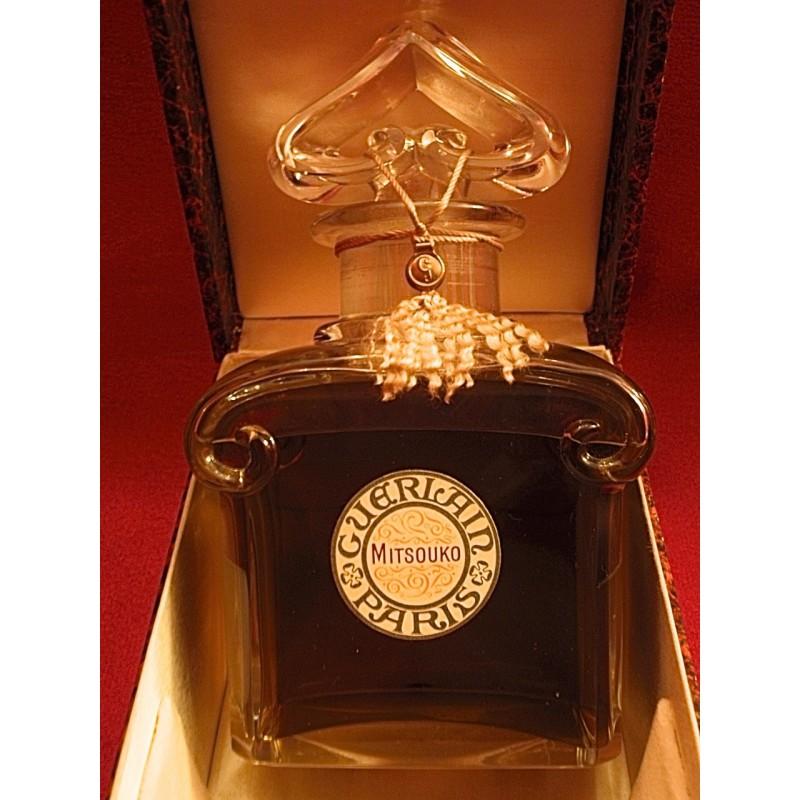 Parfum Guerlain Mitsouko Grand Flacon Baccarat Coffret Le Grenier