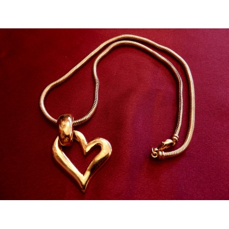 "Collier ras de cou Yves Saint Laurent ""Coeur"""