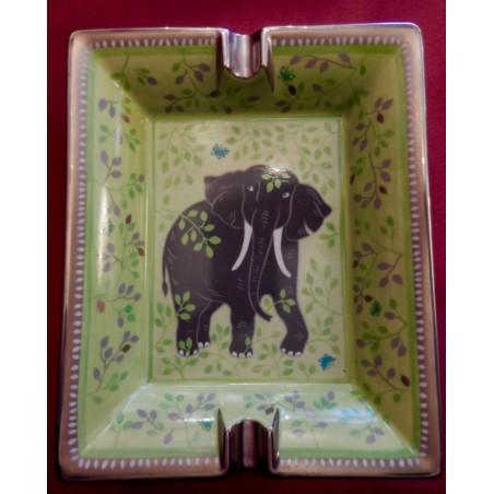 Cendrier vide-poche Hermès Elephant et papillons