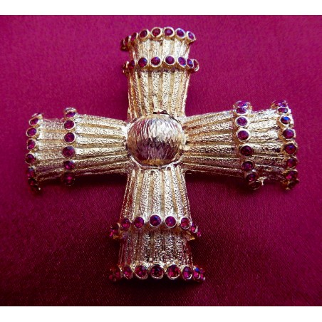 "Broche, pendentif Christian Lacroix ""Croix"""