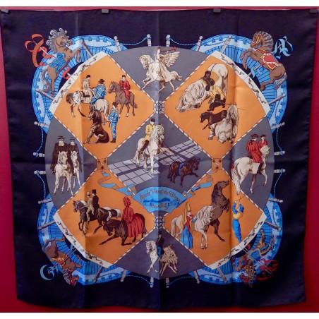 Carré Hermès Musée vivant du cheval Chantilly