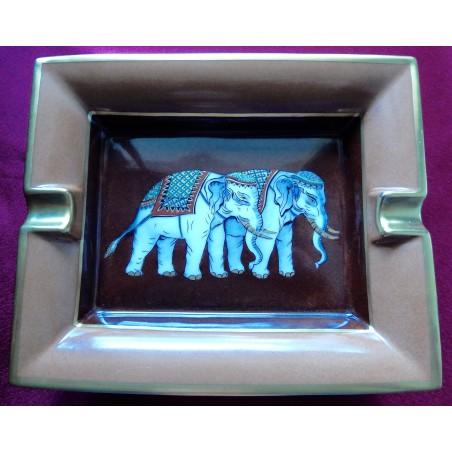Cendrier vide-poches Hermès Eléphants