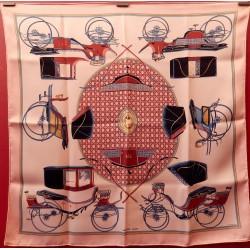 Foulard carré Hermès Les...