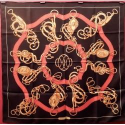 Carré foulard Hermès Profilé