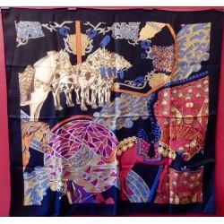 Carré foulard Hermès Art...
