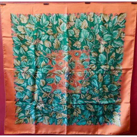 Carré foulard Hermès L'arbre de soie