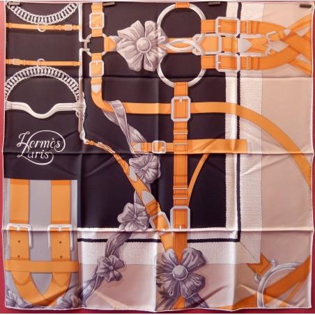 Carré foulard Hermès Grand manège détail