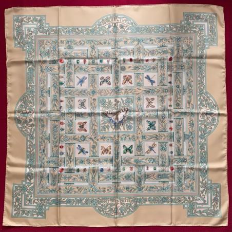 Carré foulard Hermès Les joyaux de l'été