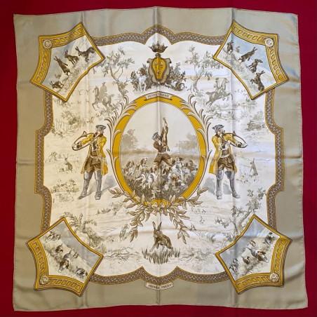 Carré foulard Hermès Petite vénerie