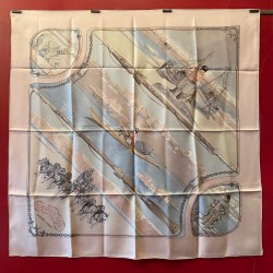 Carré foulard Hermès Groenland