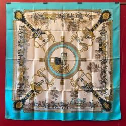 Carré foulard Hermès Grands...