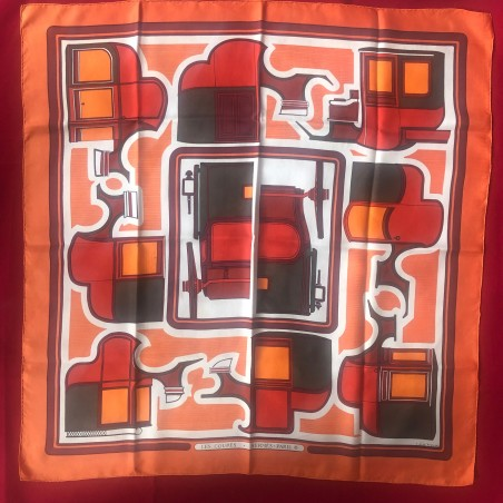 Carré foulard Hermès Les coupés