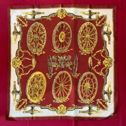 Carré foulard Hermès Les roues