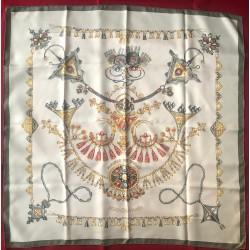 Carré foulard Hermès Parure...
