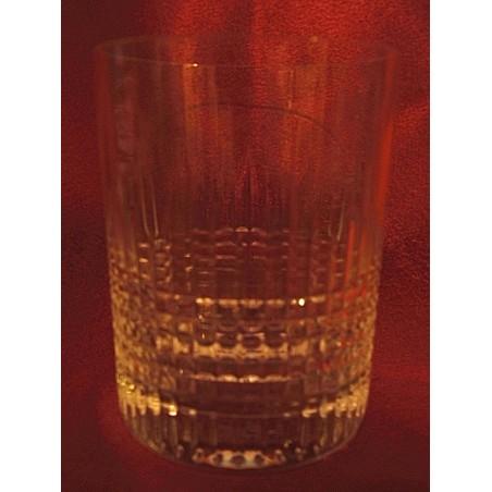 Verres gobelets à whisky Baccarat Nancy (hauteur 9,5 cm)