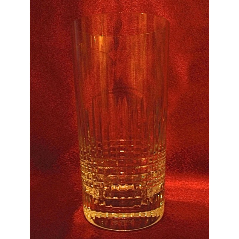Verres chopes Baccarat Nancy