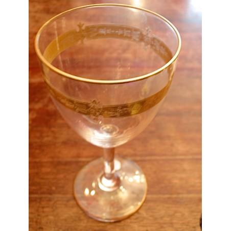 Verres à vin blanc Baccarat 19°