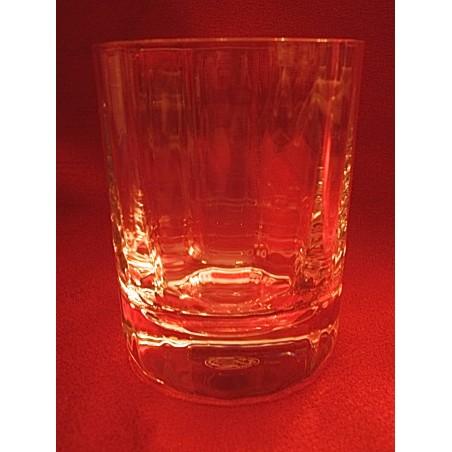 Verres gobelets à whisky Baccarat Capri Montaigne (hauteur 9,5 cm)