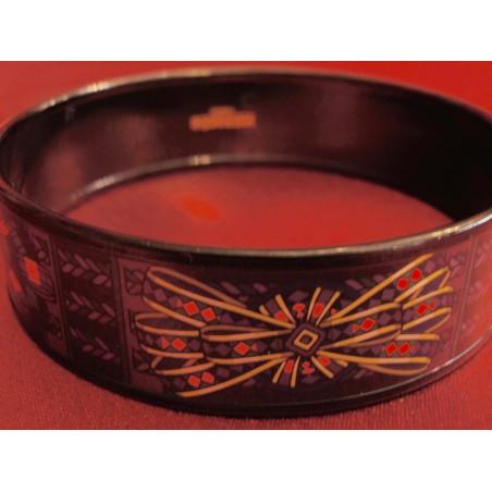 Bracelet émail Hermès Les rubans du cheval