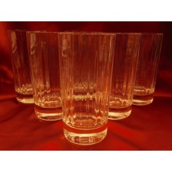 Verres, chopes Baccarat...